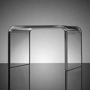 Sleek Modern Acrylic Stool
