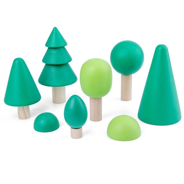 Enchanted Forest Wooden Blocks