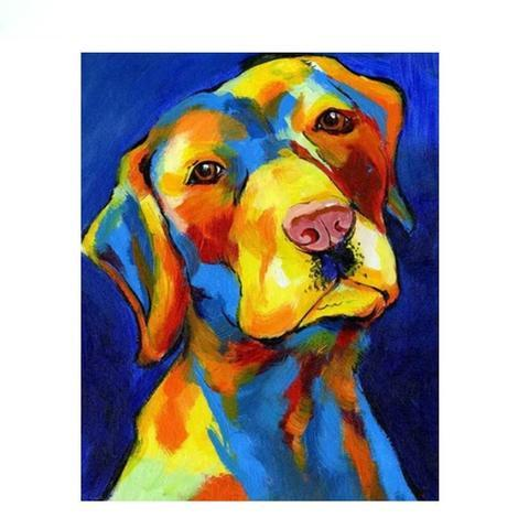Dog Diy Paint By Numbers Kits UK PBN57813