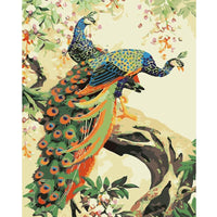 Peacock Diy Paint By Numbers Kits Uk PBN95108