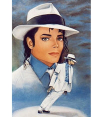 Michael Jackson Diy Paint By Numbers Kits Uk PBN52141
