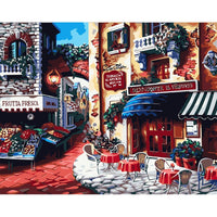 Town Landscape Diy Paint By Numbers Kits UK PBN55392