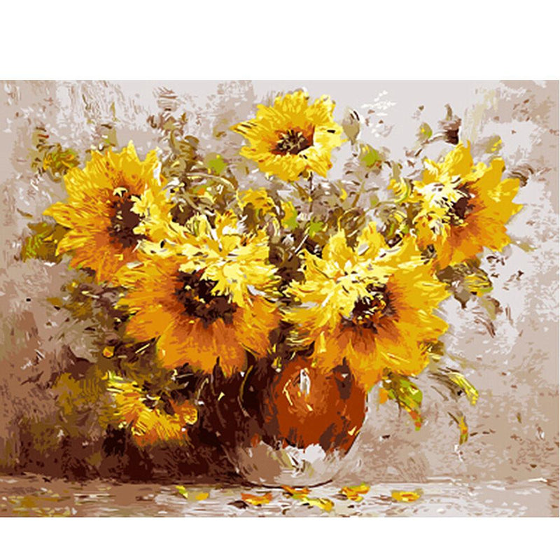 Sunflower Diy Paint By Numbers Uk PBN90305