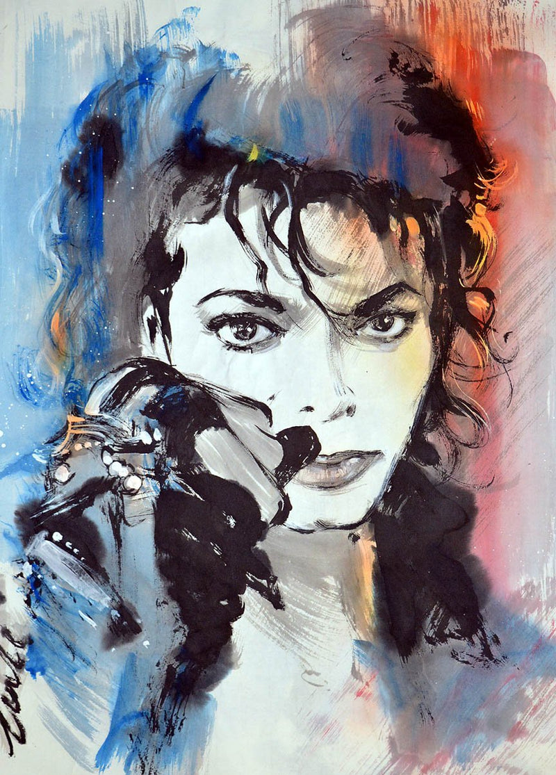 Michael Jackson Diy Paint By Numbers Kits Uk VM92143