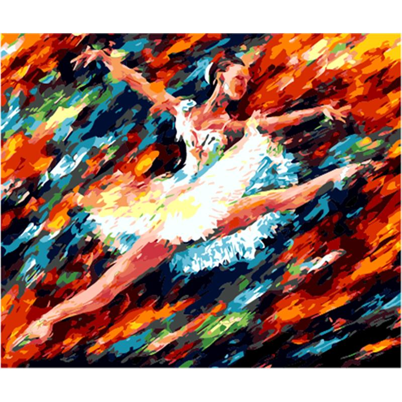 Dancer Diy Paint By Numbers Kits Uk PBN94370