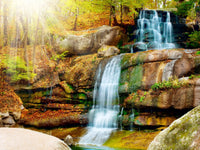 Landscape Waterfall Diy Paint By Numbers Kits UK VM97895