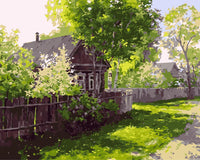 Landscape Cottage Diy Paint By Numbers Kits Uk SY-4050-046