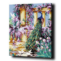 Peacock Diy Paint By Numbers Kits Uk PBN95347