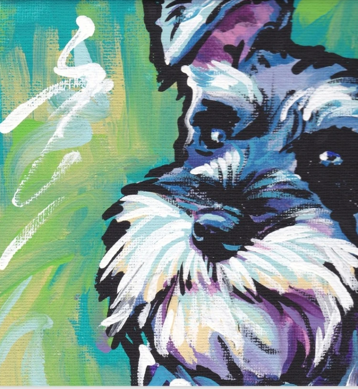 Dog Diy Paint By Numbers Kits UK VM57817