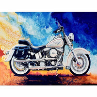 Vehicle Motorbike Diy Paint By Numbers Kits Uk VM00220