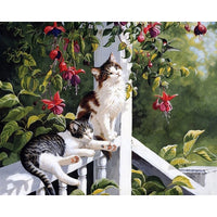 Pet Cat Diy Paint By Numbers Uk PBN90493