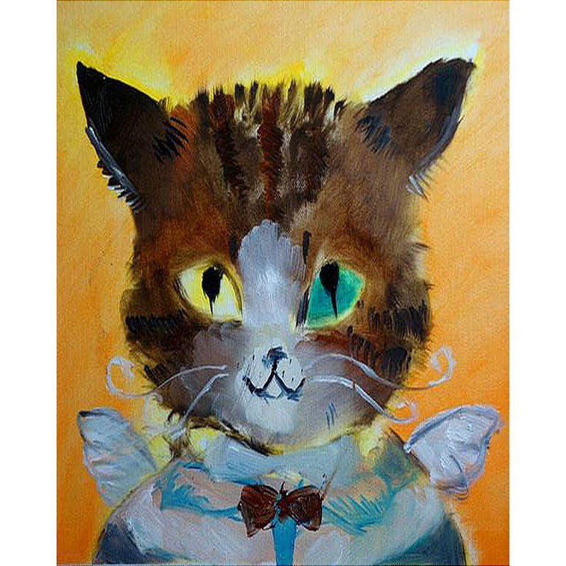 Pet Cat Diy Paint By Numbers Kits Uk PBN90611