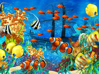 Fish Diy Paint By Numbers Kits Uk PBN92163