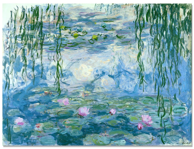 Water Lilies Diy Paint By Numbers Kits Uk VM92426