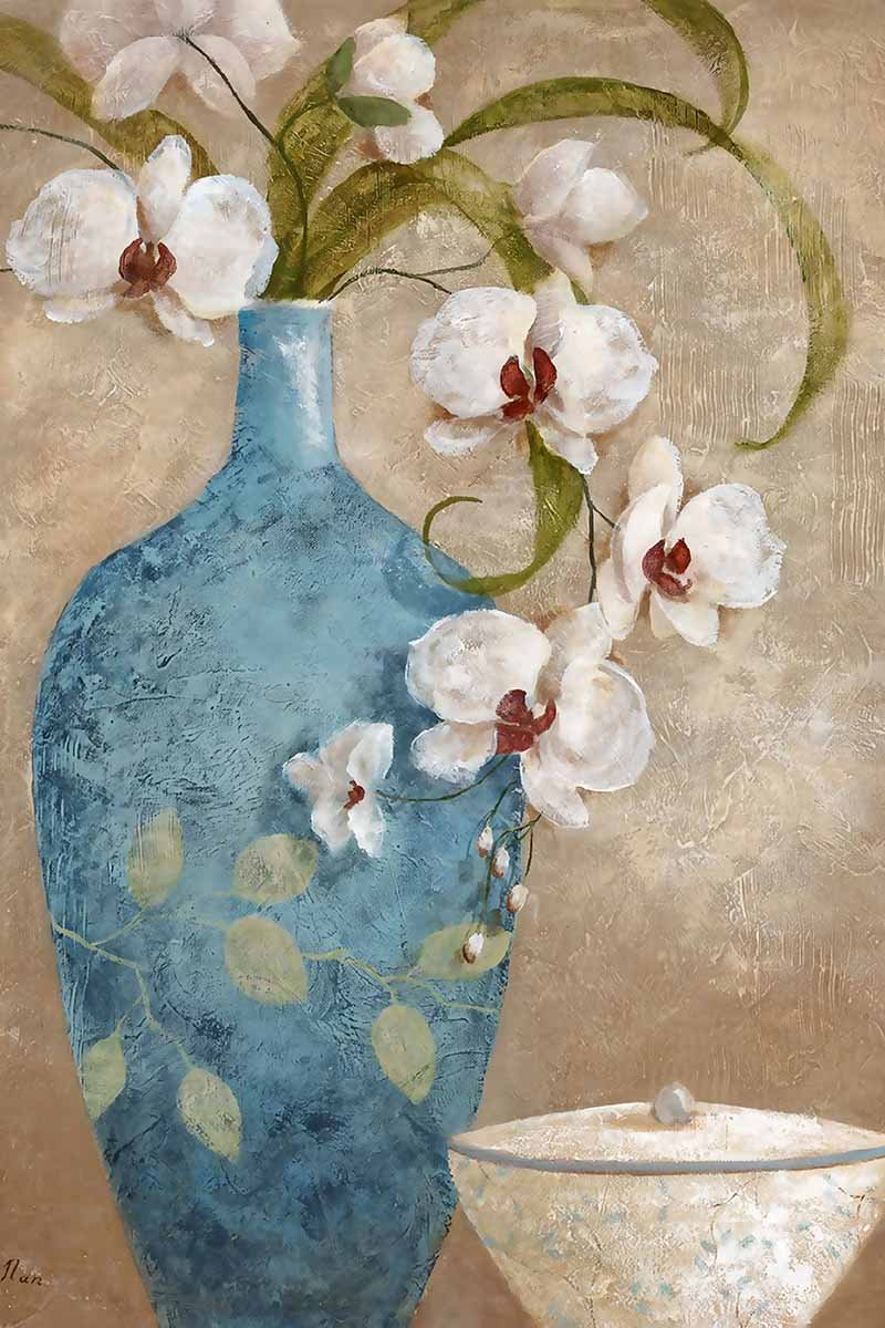 Flower In Vase Diy Paint By Numbers Kits Uk VM92844