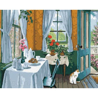 Room Diy Paint By Numbers Kits Uk PBN95113