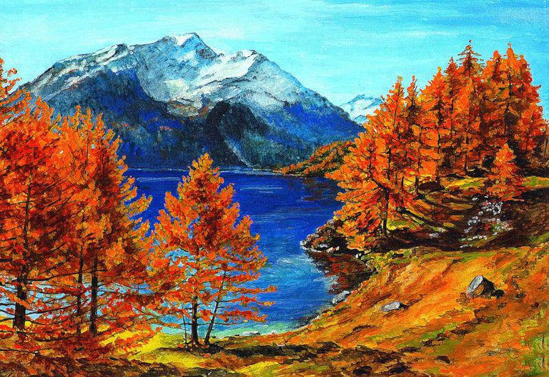 Landscape Mountain Diy Paint By Numbers Kits UK PBN97907