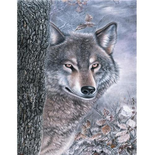 Animal Wolf Diy Paint By Numbers Kits Uk PBN91740