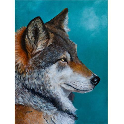 Animal Wolf Diy Paint By Numbers Kits Uk PBN91623