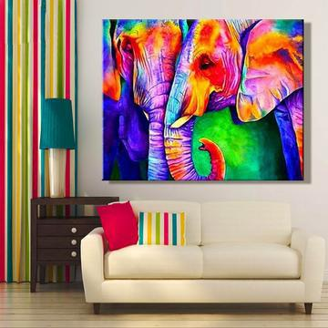Animal Elephant Diy Paint By Numbers Kits Uk VM92283