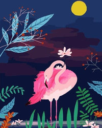 Flamingo Diy Paint By Numbers Kits UK VM97945