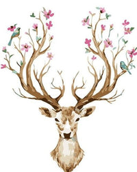 Deer Diy Paint By Numbers Kits Uk PBN94196