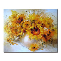 Sunflower Diy Paint By Numbers Kits UK PBN97015