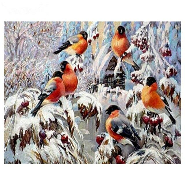 Bird Diy Paint By Numbers Kits Uk PBN90927