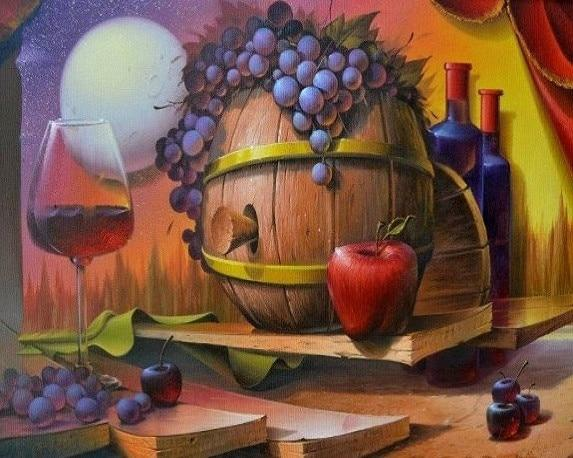Fruit Diy Paint By Numbers Kits UK PBN97501