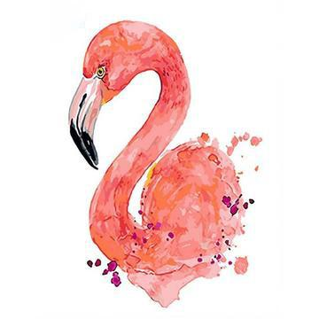 Flamingos Diy Paint By Numbers Kits Uk PBN90814