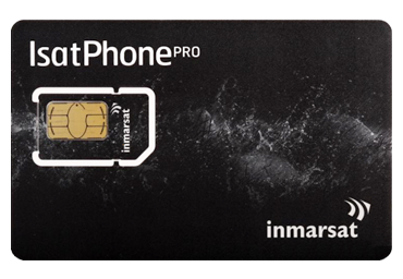 Inmarsat prepaid satellite airtime voucher 250 units