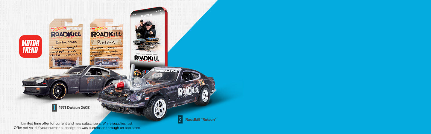 MotorTrend Roadkill Rotsun 2 Car Set