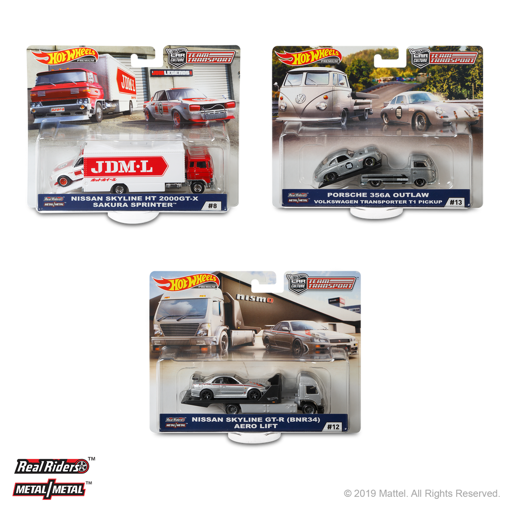 2019 Hot Wheels Team Transport E (Case-pack of 4)