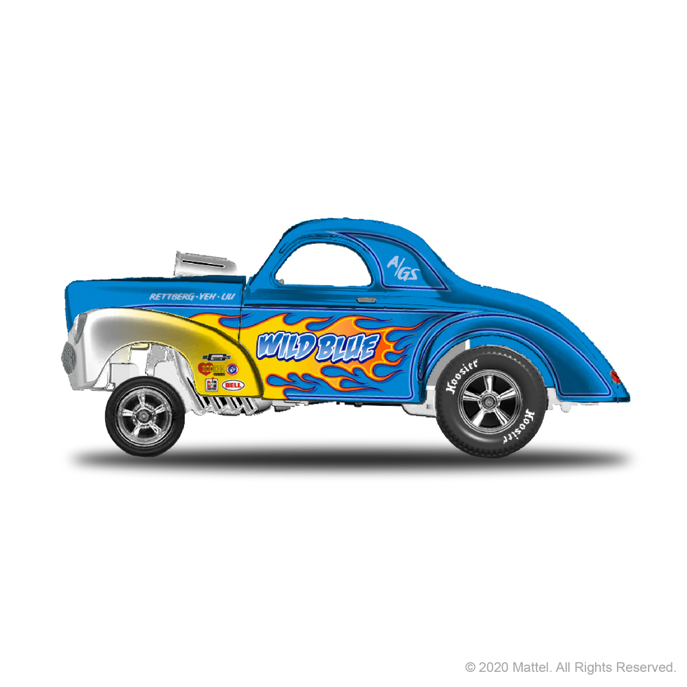 RLC sELECTIONs '41 Willys Gasser