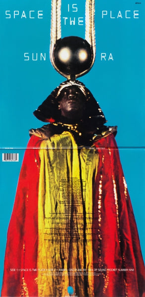 Sun Ra. Space is the place. Released  1973.  Streeterville Recording Studio, Chicago