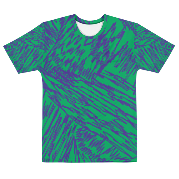 T-shirt all over vert / STONE violet - LFO