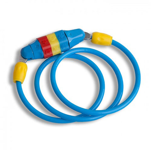 Small childrens cable lock