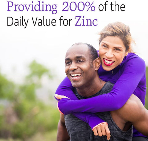 200 % of the Daily Value for Zinc