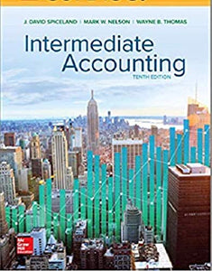 6-Month Online Access Code for Intermediate Accounting 10th ed (Spiceland) Printed Access Code