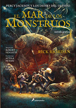 Load image into Gallery viewer, El mar de los monstruos. Novela gráfica / The Sea of Monsters: The Graphic Novel (Percy Jackson y los dioses del olimpo / Percy Jackson and the Olympians) (Spanish Edition)
