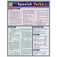 Load image into Gallery viewer, Spanish Verbs (Laminated Reference Guide; Quick Study Academic)