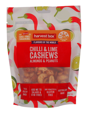 FLAVOURS OF THE WORLD - CHILLI & LIME (8 x 140g)