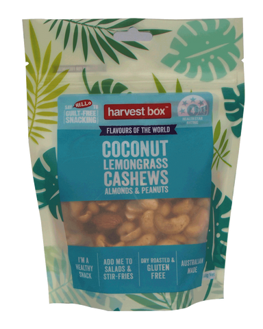 HARVEST BOX FLAVOURS OF THE WORLD | COCONUT & LEMONGRASS | 8 x 140g