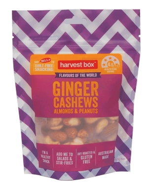 FLAVOURS OF THE WORLD - GINGER (8 x 140g)