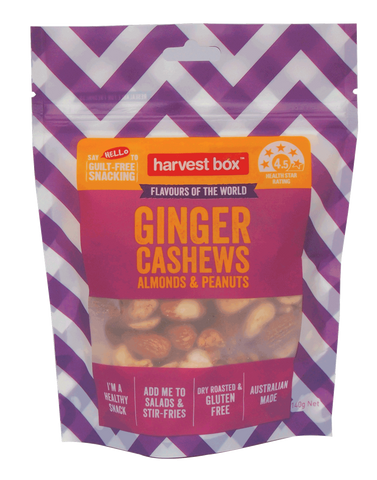 HARVEST BOX FLAVOURS OF THE WORLD | GINGER | 8 x 140g