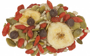 Banana Trail Mix with Dark Chocolate - Nut Free (500g)