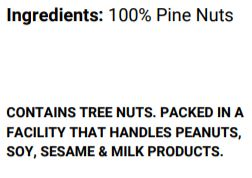Pine Nuts (80g)