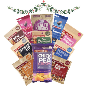 CHRISTMAS CARE PACK: 10 HARVEST BOX FAVOURITES + FREE CHICKPEA CHIPS!
