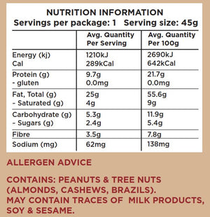 WE LOVE NUTS (10 x 45g)