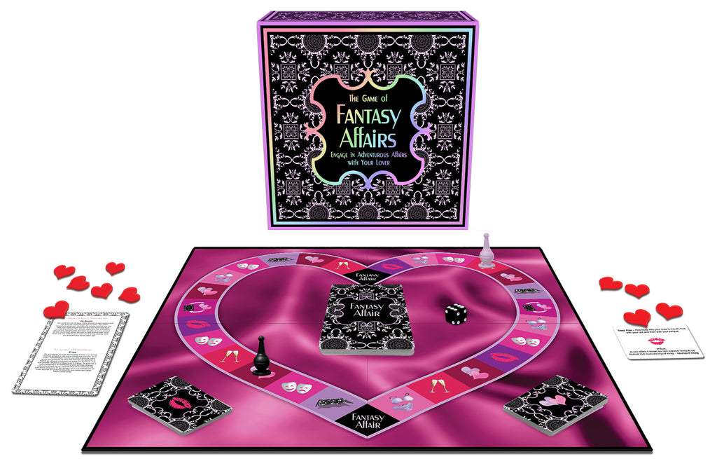 Fantasy Affairs Creative Interactive Cards Couples Game